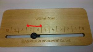 痛みの尺度計